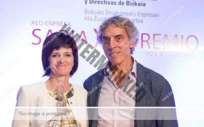 La Dra. Nerea Landa galardonada con el Premio Empresarial AED 2017