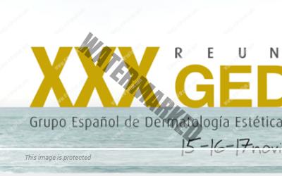 XXX Reunión del Grupo Español de Dermatología Estética y Terapéutica de la AEDV -GEDET