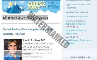 39 Congreso Anual de la Sociedad Americana de Láser Médico Quirúrgico (ASLMS)