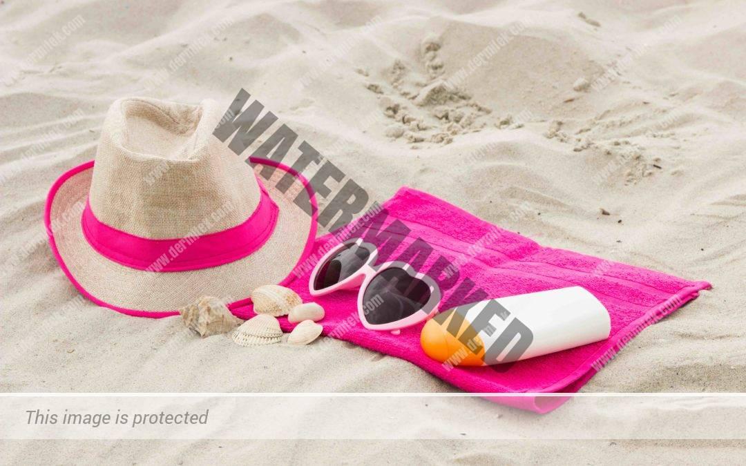 protección contra las quemaduras del sol