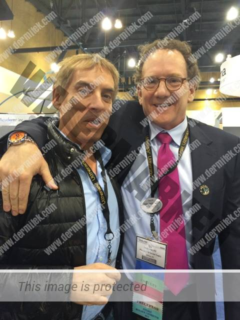 El Dr. Azpiazu y el Dr. Eric Bernstein, de Main Line Center for Laser Surgery, de Pennsylvania
