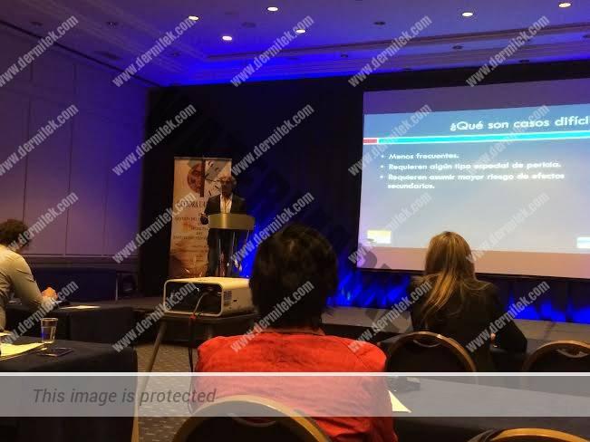 El Dr. Azpiazu en el Congreso de Sitges