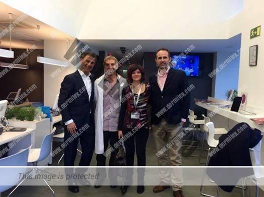 Dres Ricardo Ruiz de la Clínica Ruber de Madrid y Vicent Alonso del Hospital 9 de Octubre de Valencia