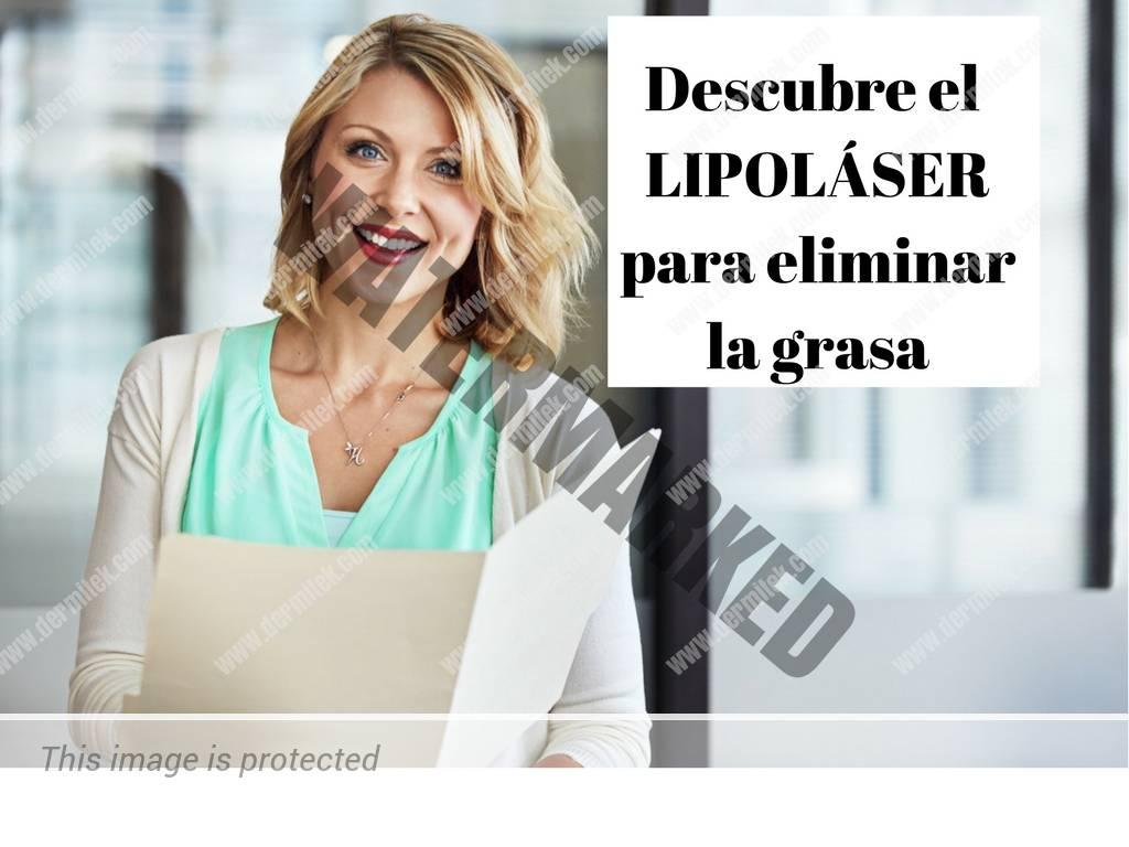 lipolaser para eliminar la grasa localizada. Dermitek