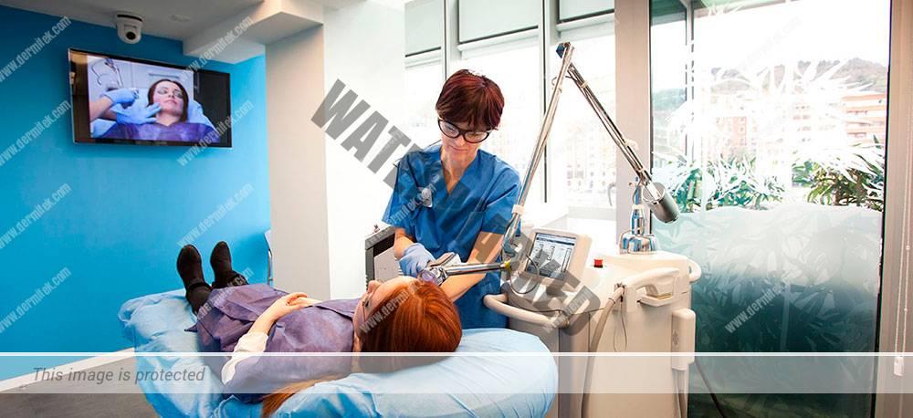 Tratamiento rejuvenecimiento facial en la clínica estética Dermitek.