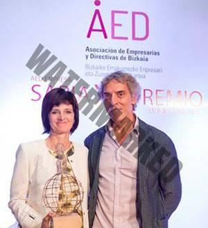 Nerea Landa, dermatólogo en Bilbao, premio por su trayectoria.