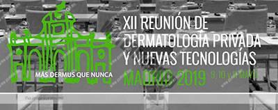 Congreso de dermatología en Madrid.