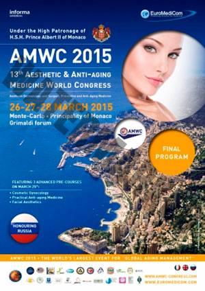 Dermitek acude al Congreso de Medicina Estética y Antienvejecimiento en Mónaco.