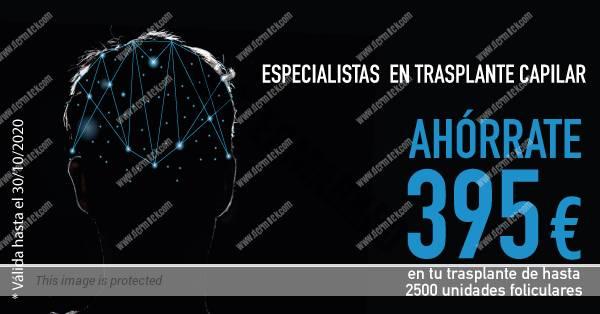 Promoción trasplante capilar, octubre 2020