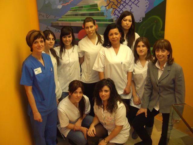 Visita alumnas estetica dermitek