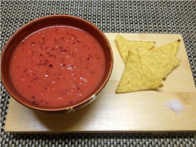 Receta de cocina fácil: Crema de tomate Gourmet