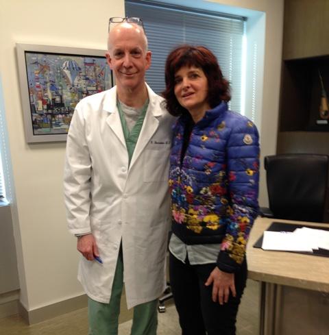 La Dra. Nerea Landa y el Dr. Robert Bernstein