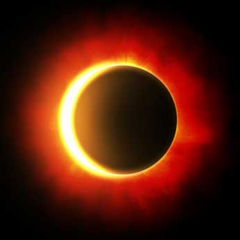 La parte oscura del sol