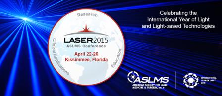 congreso de la sociedad americana de láser médico quirúrgico 2015