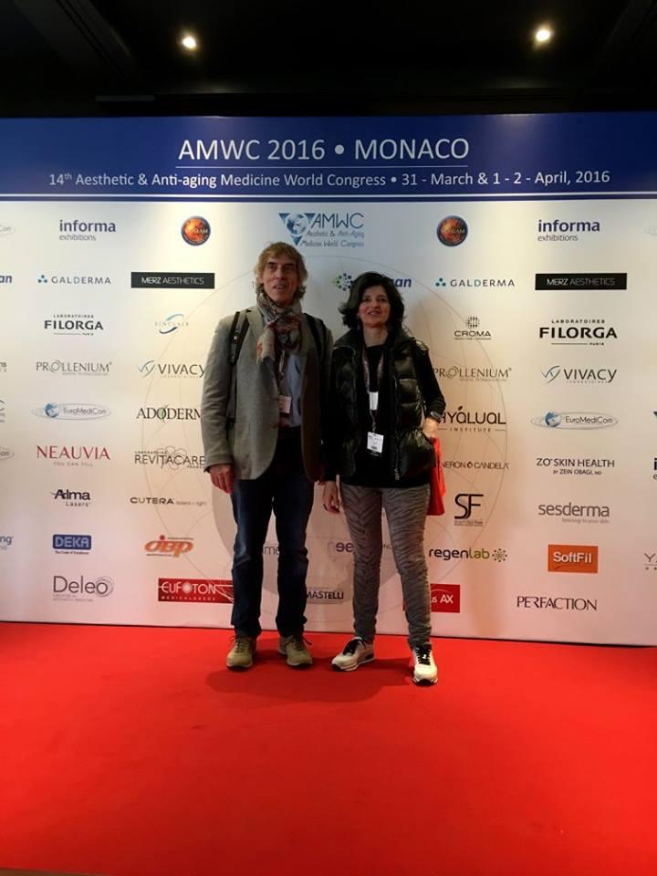 congreso Mundial Medicina Estetica y antienvejecimiento Mónaco 2016