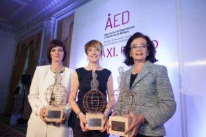 Premio asocicación mujeres empresarias 2017. Dra. Nerea Landa