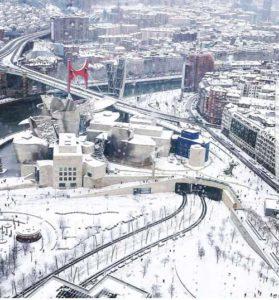 Bilbao nieve 2018