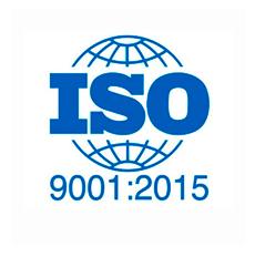 certificado con la norma ISO 9001:2015
