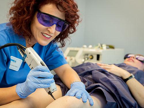 Tratamiento de las varices en Dermitek, clínica estética en Bizkaia.